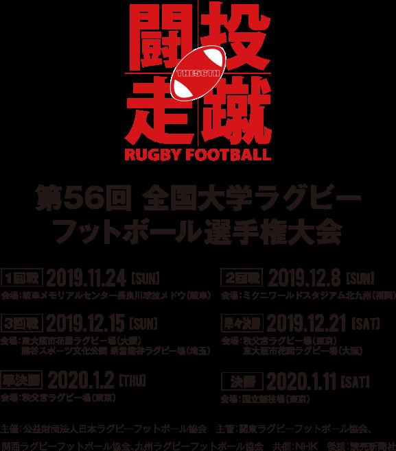選手権 2020 大学 ラグビー